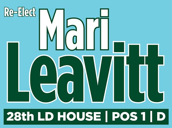Elect Mari Leavitt